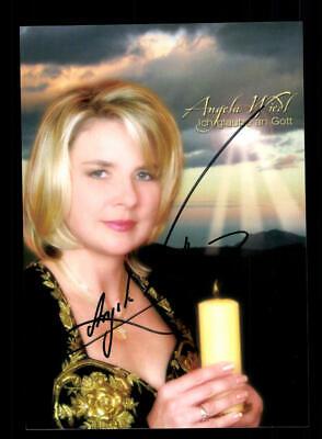 Herzhaft Angela Wiedl Autogrammkarte Original Signiert ## Bc 146918 Offensichtlicher Effekt Musik