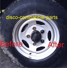 Land Rover Discovery, Defender Plastic Wheel Nut Cover