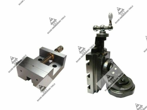 """Lathe Vertical Milling Slide 100mm x125mm With 88mm Vice Swivel Base 4/"""" x 5/"""""""