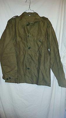 Amichevole True Vintage Esercito Militare Camicia/giacca Leggera N. 48 Non Indossata 42 Che Brown-ght Jacket No 48 Not Worn 42 Che Brown It-it Mostra Il Titolo Originale