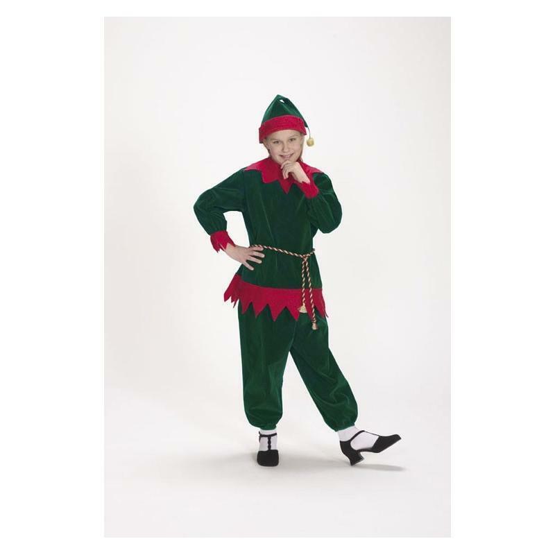Halco Velvet Elf Suit #1197 Child 4 to 8 New