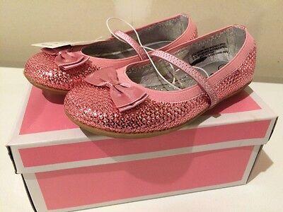 Toddler Girls Circo Ballerina Shoes Pink Sequin Ballet Flat Gilda Various Sizes