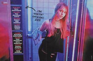 LINA-LARISSA-STRAHL-A3-Poster-ca-42-x-28-cm-Fan-von-Dir-Tour-2018-Sammlung