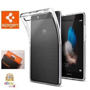 Cover Huawei P8 Lite 2017 Spigen Custodia TRASPARENTE Protettiva Silicon GEL