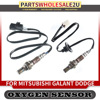 2x O2 Oxygen Sensor for Mitsubishi Outlander 2003 2.4L 4G64 Upstream/&Downstream