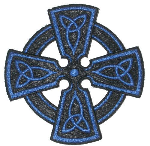 Celtic Cross Symbol Iron on Applique x 1 various colours