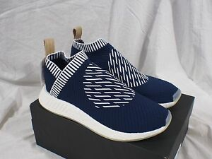 2a21f3972e78cc Image is loading Adidas-NMD-CS2-Ronin-BA7189-Primeknit-Collegiate-Navy