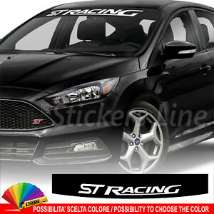 Fascia-parasole-Ford-ST-Racing-adesivo-parabrezza-rs-motor-sport