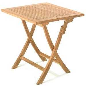 Tl 8107 Roggemann Gartentisch Klapptisch Tisch Holztisch Teak Holz