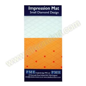 PME Small Diamond Impression Mat