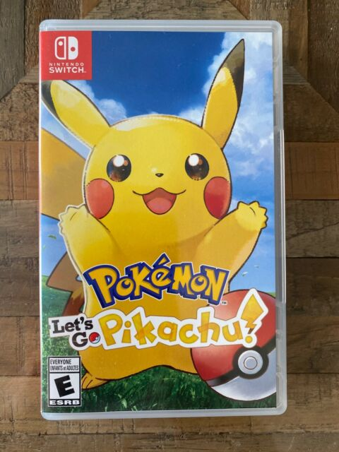 Pokémon: Let's Go Pikachu (Nintendo Switch)