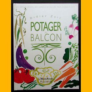 Collection-La-Maison-Rustique-POTAGER-AU-BALCON-Didier-Zail-1999