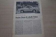 174698) Glas Coupe S 1004 - Sonderdruck Pfälzer Tageblatt - Prospekt 1963