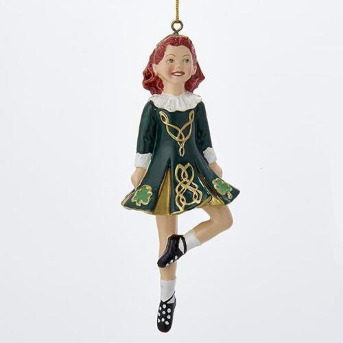 W4100 Kurt Adler Dancing Irish Girl Ornament