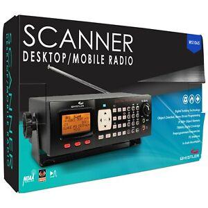 Whistler WS1065 Desktop/Mobile Digital Scanner Radio