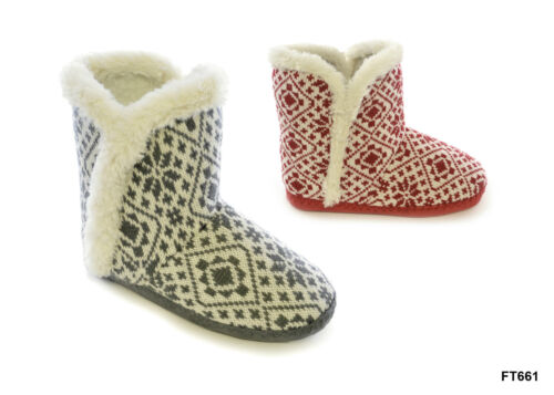 ladies  tom franks slipper boots sizes 3//4 5//6 7//8 winter warm ers slumberz cool