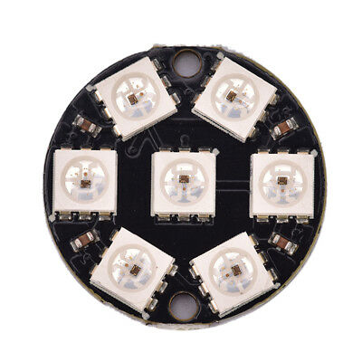 1pc 5050 12-Bit RGB LED Ring WS2812 Round Decoration Bulb Perfect For Arduino