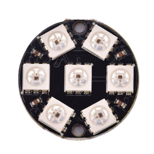 7-Bit Ws2812 5050 Rgb Led Ring Round Decoration Bulb Arduin ZP
