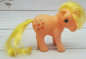 My Little Pony G1 Applejack Great Condition Year 2 Straight Hair 1983 Vintage