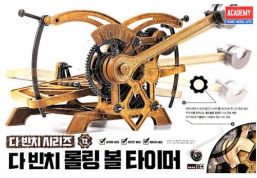 Academy #18174 Da Vinci Machines Series Rolling Ball Timer Kit