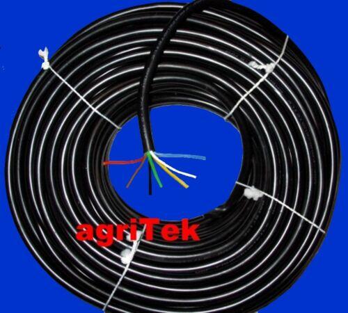 Fahrzeugkabel Kabel aus Kunststoff 7x1,5qmm 2,95€//lfm ideal für Trecker Anhänger
