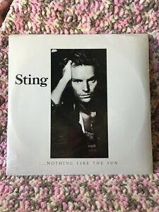 STING VINYL nothing like the sun LP x2 1987 SEALED VINTAGE no bar code FRAGILE