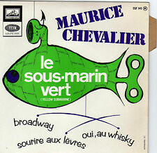 MAURICE CHEVALIER LE SOUS-MARIN VERT (YELLOW SUBMARINE) FRENCH ORIG EP BEATLES