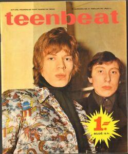 TEENBEAT-1967-24-EASYBEATS-Troggs-OUTSIDERS-Beatles-MONKEES-Small-Faces-THE-WHO