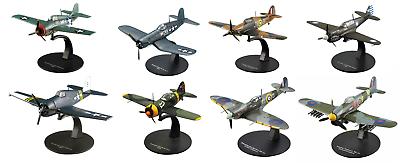 Lot de 2 Avions Américains US Air Force WW2-1//72 militaire diecast DeAgostini