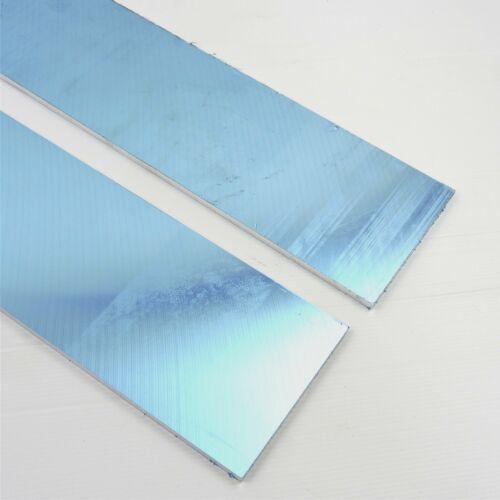 ".25/"" thick 1//4 Precision CAST Aluminum PLATE 5.125/""x13.625/"" Long QTY 2 sku136623"