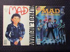 1984/88 MAD Magazine #251 VG+ #277 FN- Michael Jackson 5