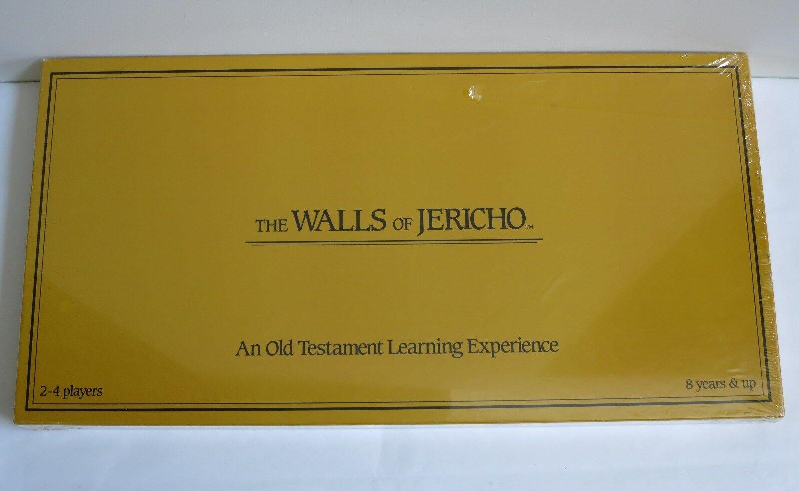 Vintage 1987 The WtuttiS Of JERICHO tavola gioco, nuovo Sealed  Very Rare  una marca di lusso