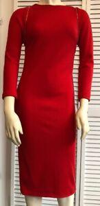 8 100 Taille Joseph laine 10 femme rouge Robe wqPnWTFxAY