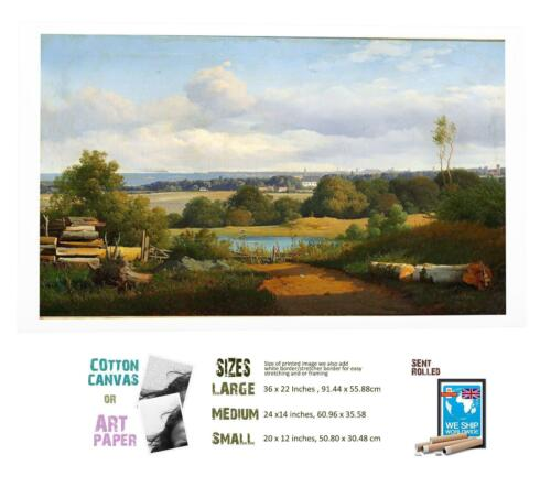 Anton Kieldrup Danish Landscape 3 ART