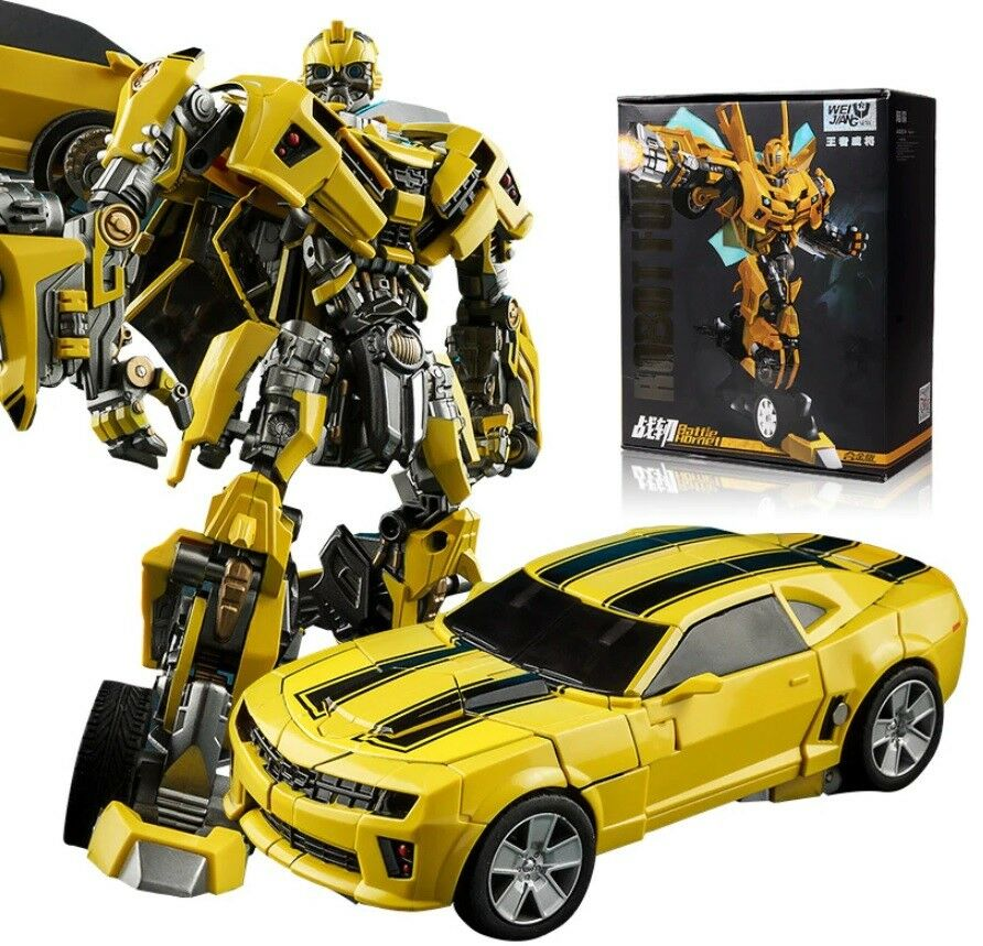 Bumblebee transformer action figure Camaro SS car toy model Carbot robot 16 cm