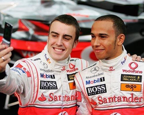 Alonso, Fernando / Hamilton, Lewis (32250) 8x10 Photo