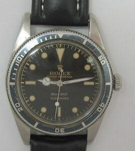 VINTAGE-ROLEX-SUBMARINER-5508-JAMES-BOND-VERSION-WRIST-WATCH-c-1959-NR