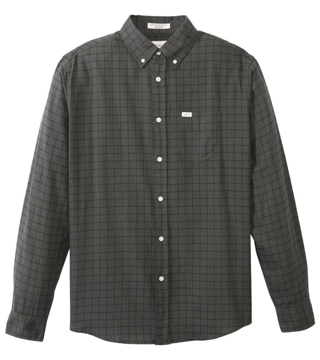 MATIX Gridley Flannel Shirt (L) Army