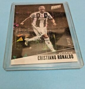 sports shoes cf284 c6403 Details about 2019 Panini Father's Day Cristiano Ronaldo CRACKED ICE # CR  04/25 Juventus