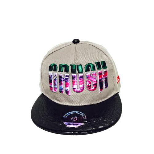Crush Colourful Fresh Hip-Hop Urban Adjustable Unisex Baseball Hat Snapback Cap