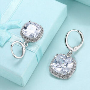 CUSHION-CUT-WHITE-TOPAZ-HALO-DANGLE-DROP-EARRINGS-14K-WHITE-GOLD-PLATED