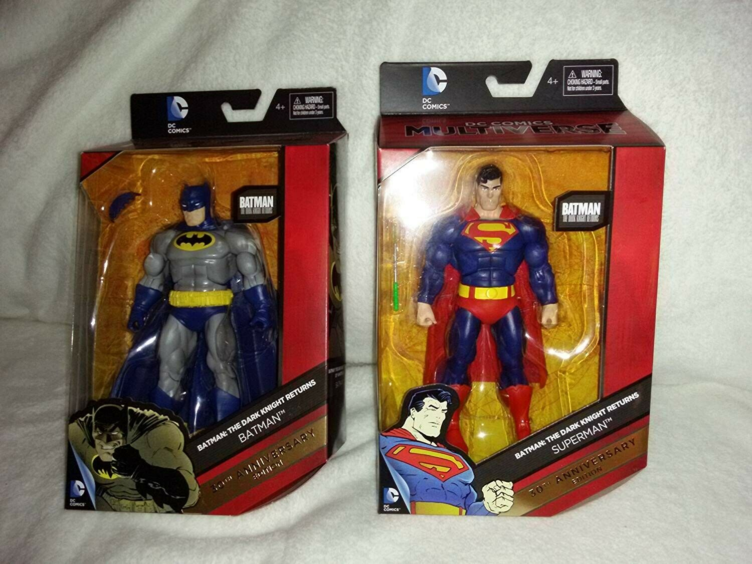 30th Anniversary Special Collectors Edition Batman & Superman Action Figures