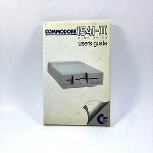 Commodore 1541-II Disk Drive User's Guide Manual 1986 for 64 & 128 - SHIPS FREE!