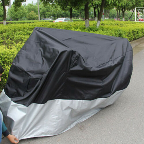 Motorcycle Waterproof Outdoor Vented Motor Bike Scooter Dust Rain Cover Large3XL