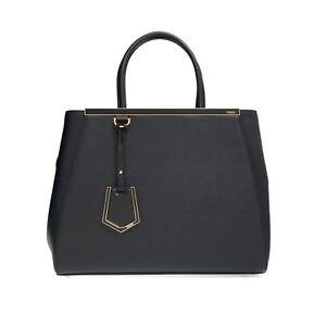 3d8e1b72779 Fendi Women s 2 Jours Large Vitello Elite Leather Tote Bag