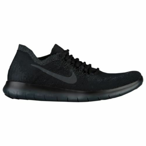Nike Free RN Flyknit 2018 Triple Black Anthracite Mens Running ALL NEW