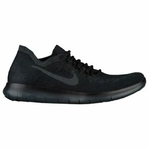 Nike Free RN 2017 Triple Black Pack Anthracite Running Mens All NEW