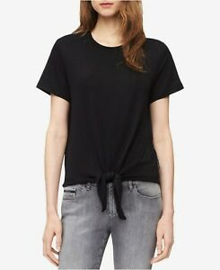 Calvin-Klein-Jeans-Top-Front-Tie-Knot-Size-and-colors-assorted
