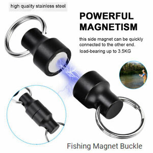 Fly Fishing Magnetic Connectors Landing Nets Release Holders Keeper 6KG Blue