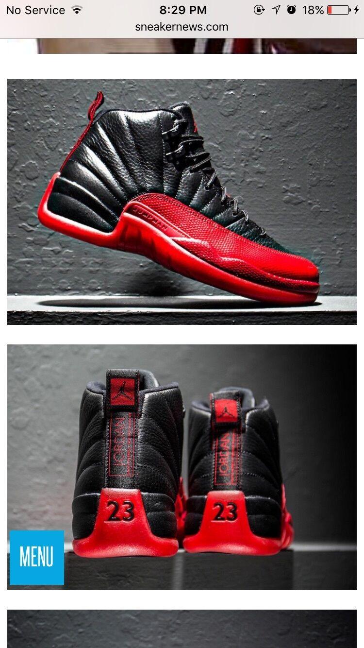Jordan 12s flu games.. New in box never wore